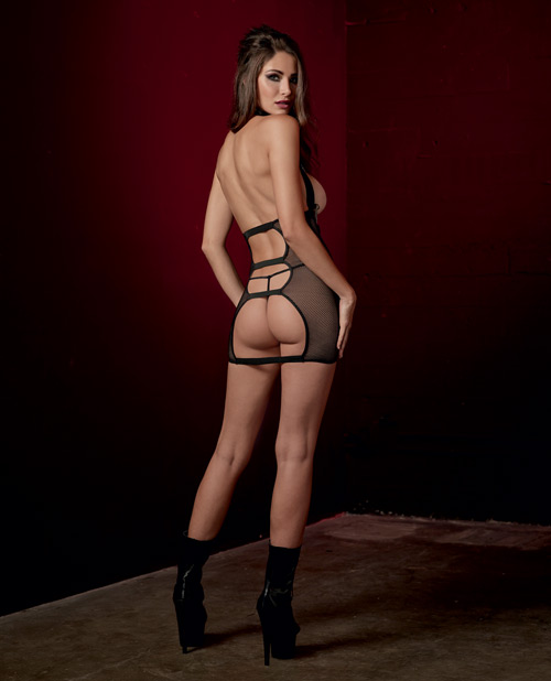 Exposed Desires Chemise Back