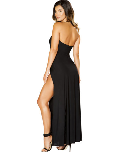 Exotic Expressions Maxi Dress Back