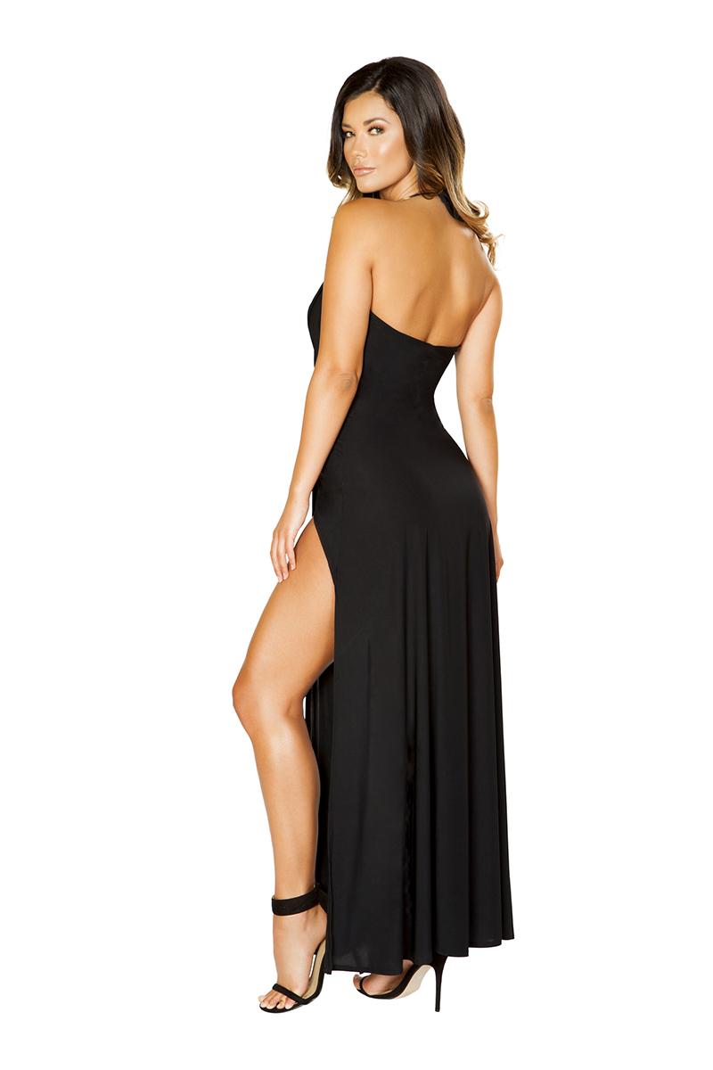 Exotic Expressions Maxi Dress Back