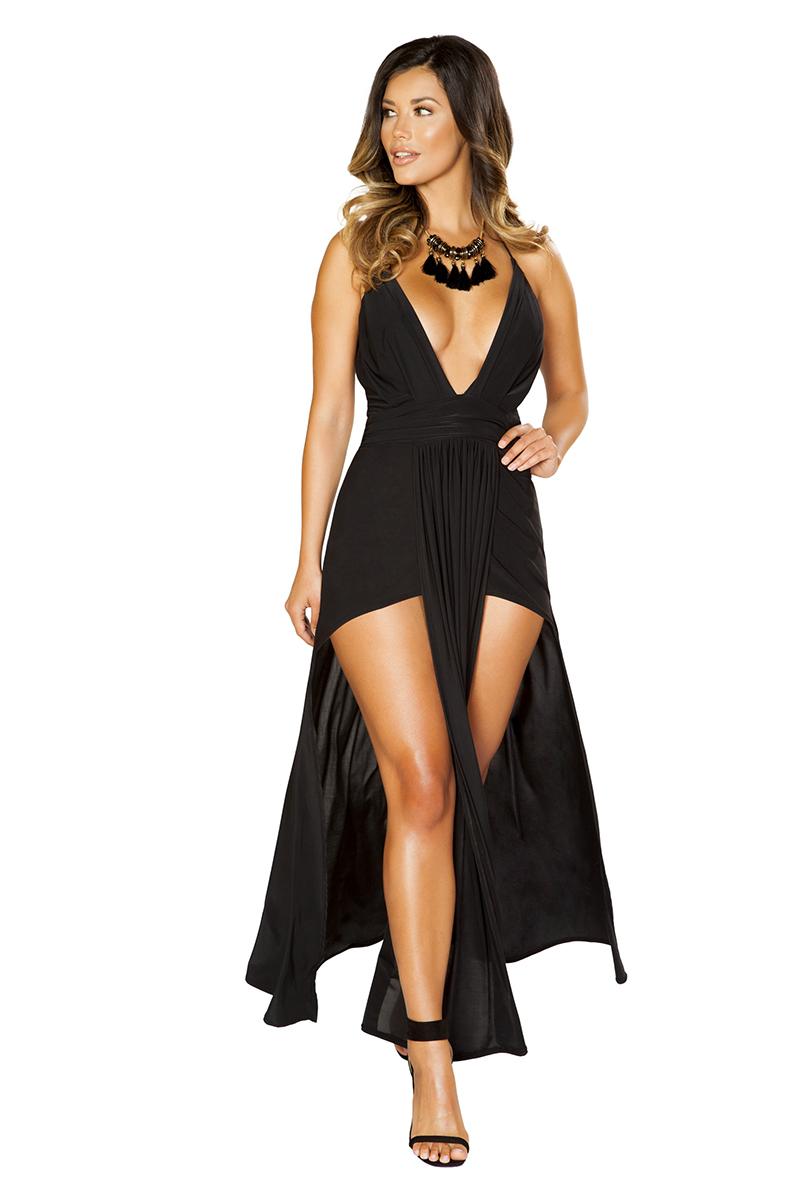 Exotic Expressions Maxi Dress