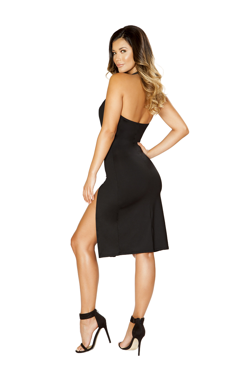 Risk Taker Mini Dress Back