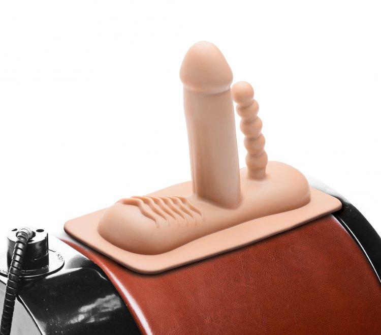 Double Penetration Attachment For Ride 'Em Deluxe Machine