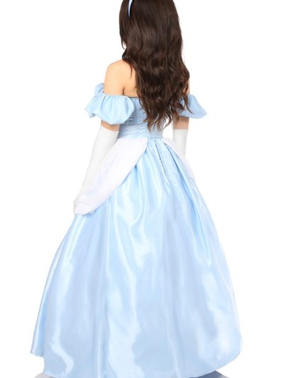 Fairytale Princess Corset Costume Back