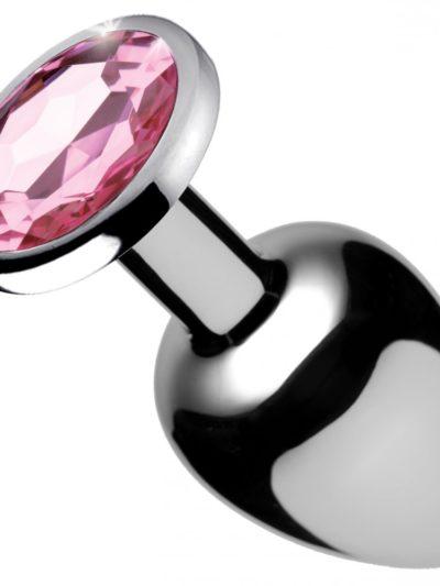 Pink Jeweled Anal Plug